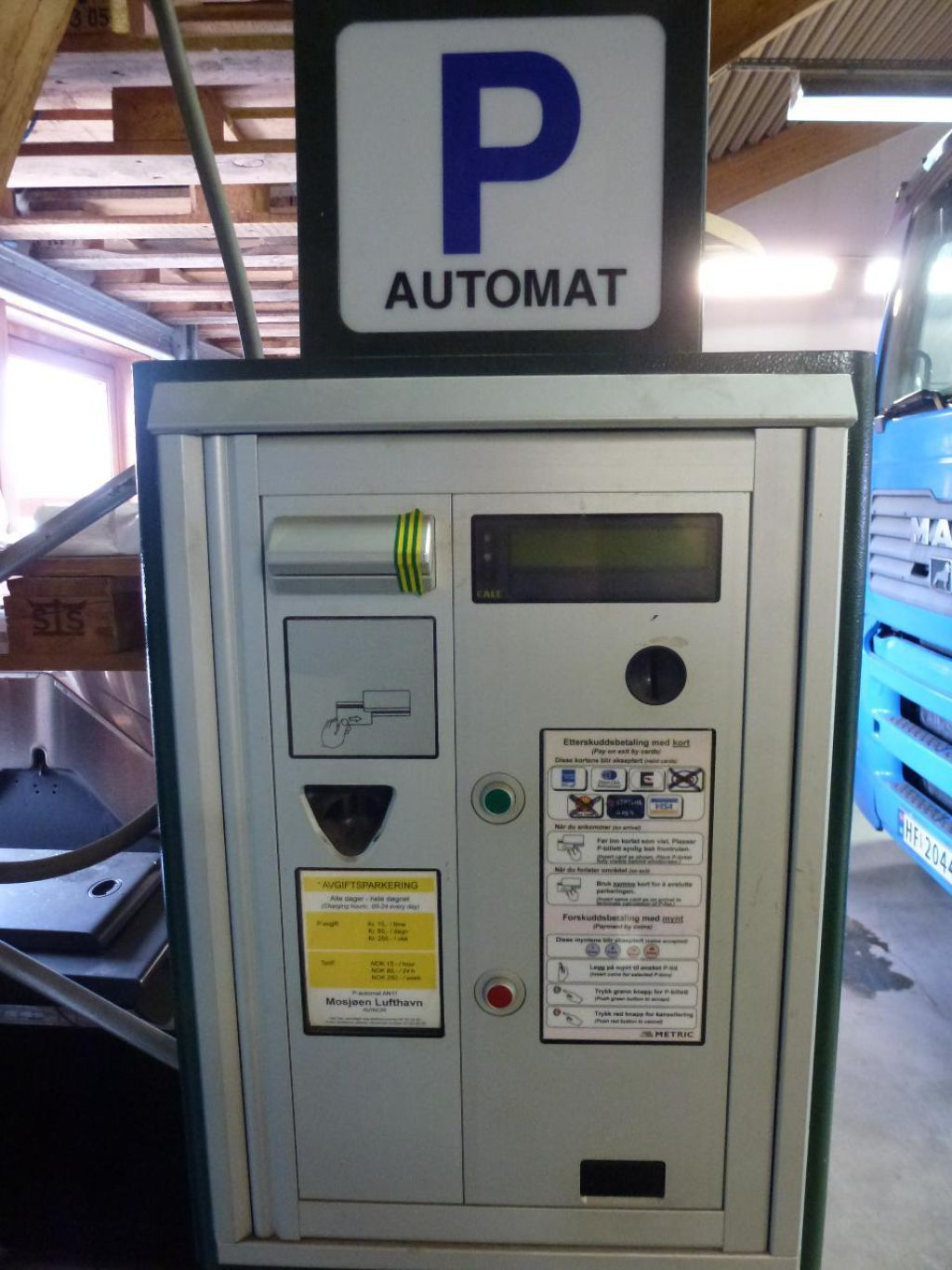 Parkeringsautomat Til Salgs For Sale Retrade Offers Used Machines