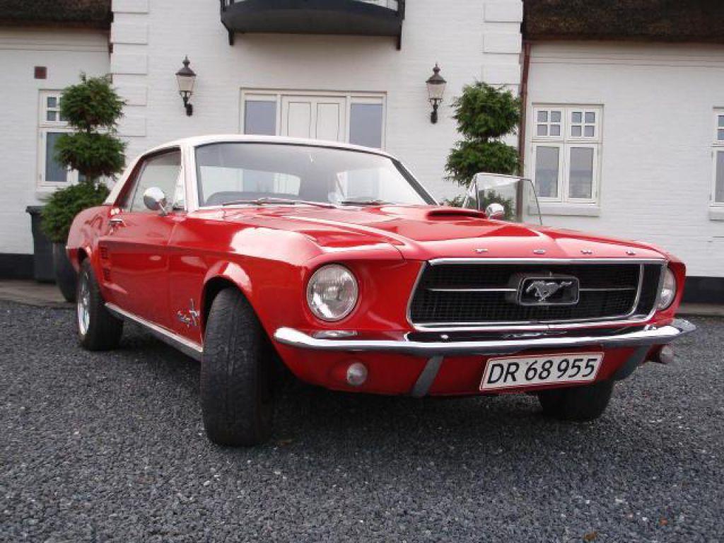 Ford mustang 302 v8 coupé veteran bil 0
