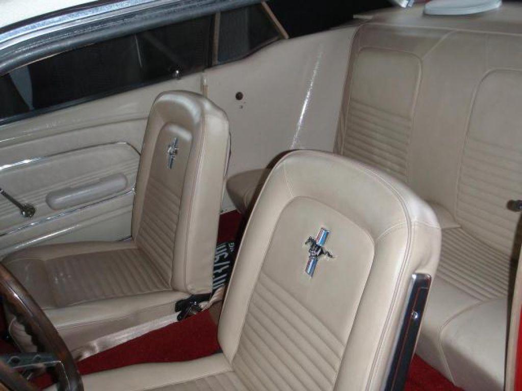 Ford mustang 302 v8 coupé veteran bil 8