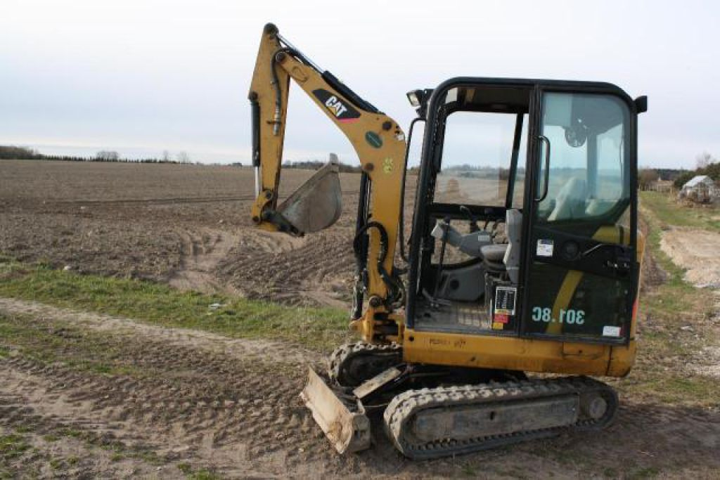 Caterpillar 301 8 C Minigraver Cat 301 8c Excavator For