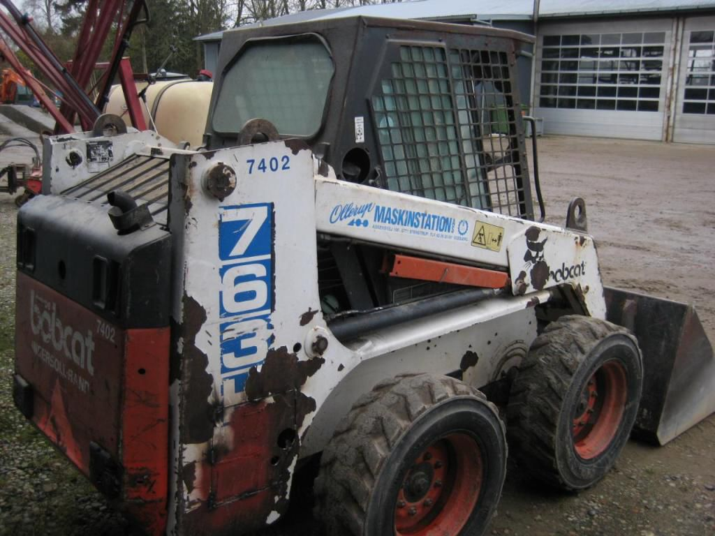 Bobcat 763h Minilæsser Bobcat 763 H Skid Steer Loader For Sale