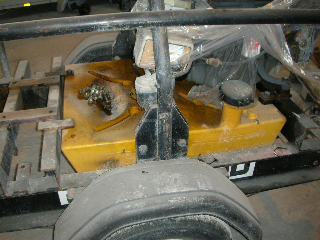 Diesel motor pumpe på trailer, Selwood S 150, for sale