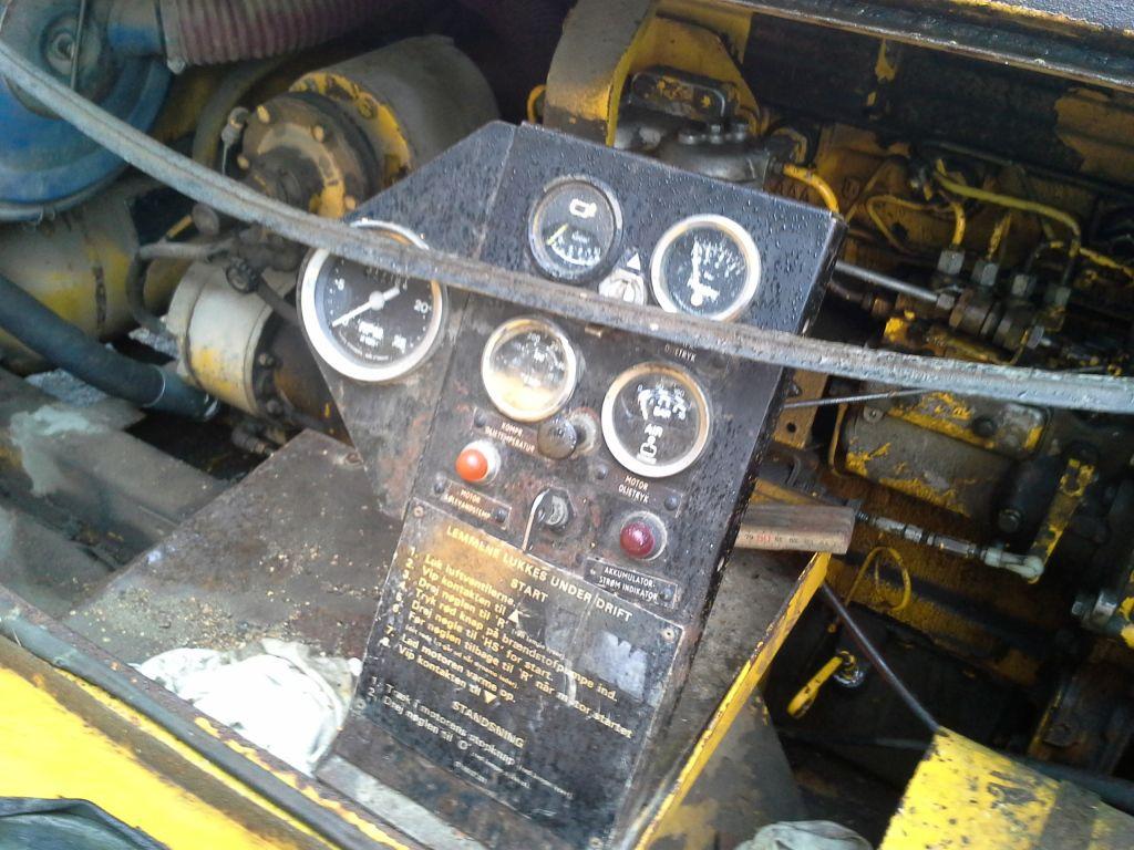 Granzow Kompressor Med Fordson Super Major Diesel Motor