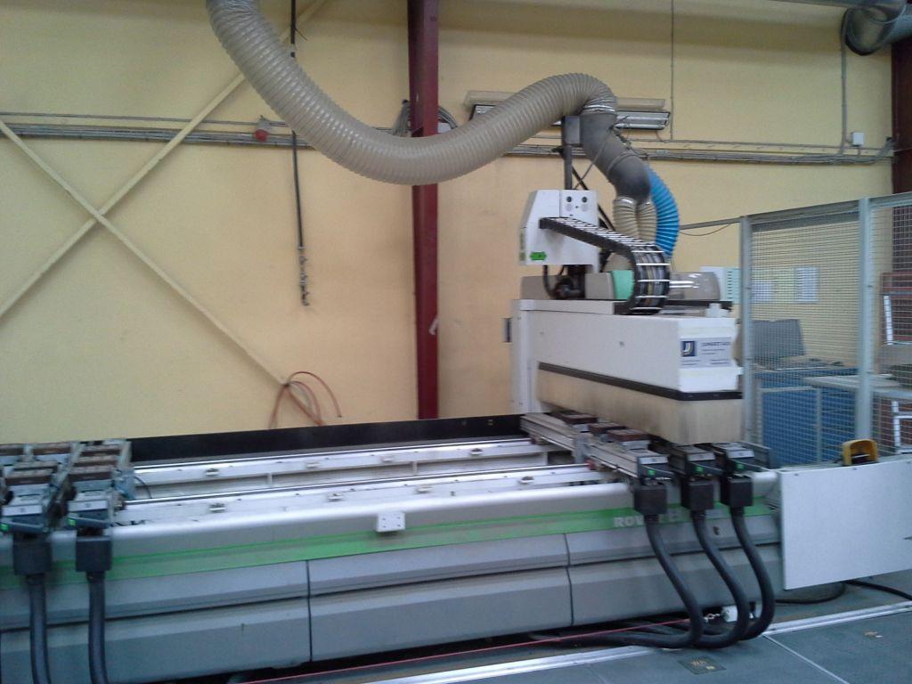 Biesse Rover CNC fræser til træ-alu / Biesse CNC milling machine for wood and Alu til salg. P ...