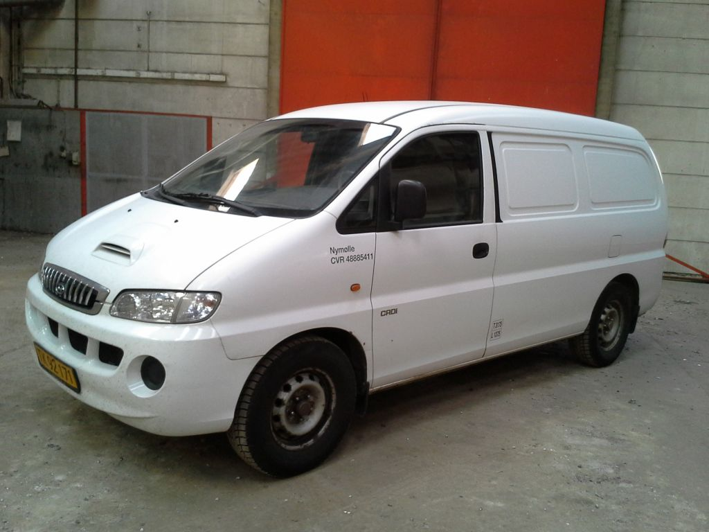 hyundai h1 2 5 crdi kassevogn hyundai h1 2 5 crdi van. Black Bedroom Furniture Sets. Home Design Ideas