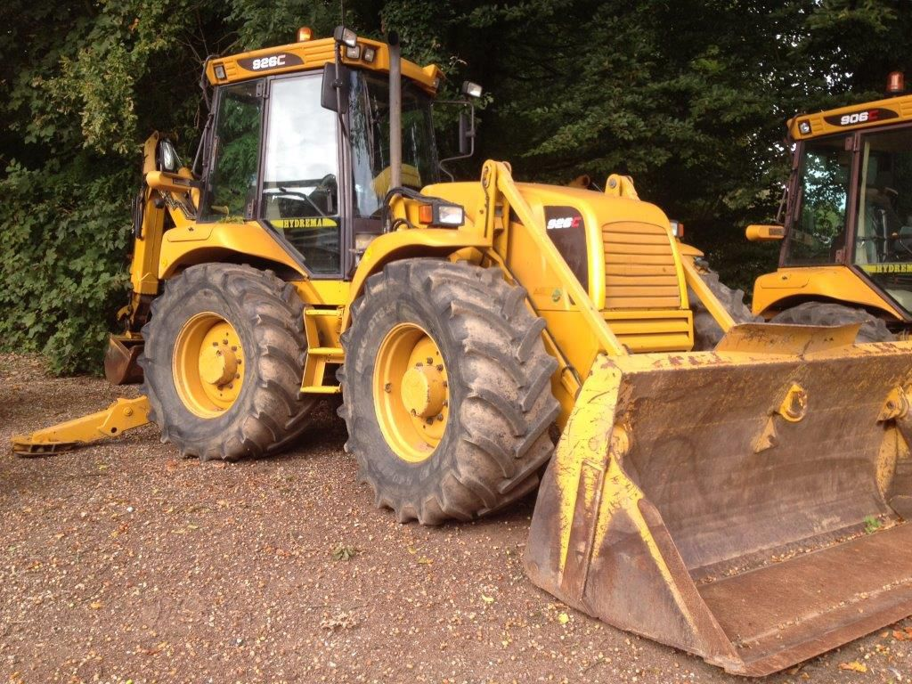 Hydrema 926 C 4 WD rendegraver / backhoe loader for sale. Retrade offers used machines, vehicles ...