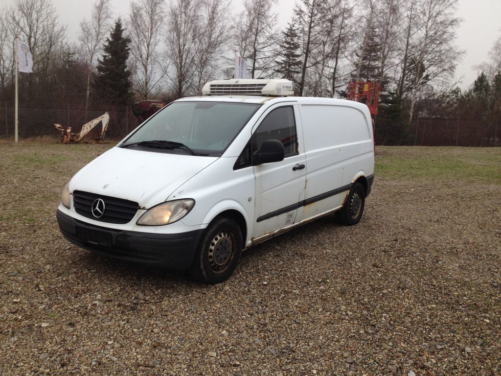 mercedes vito 115 cdi k lebil mercedes vito 115 cdi refrigerated vehicle for sale retrade. Black Bedroom Furniture Sets. Home Design Ideas