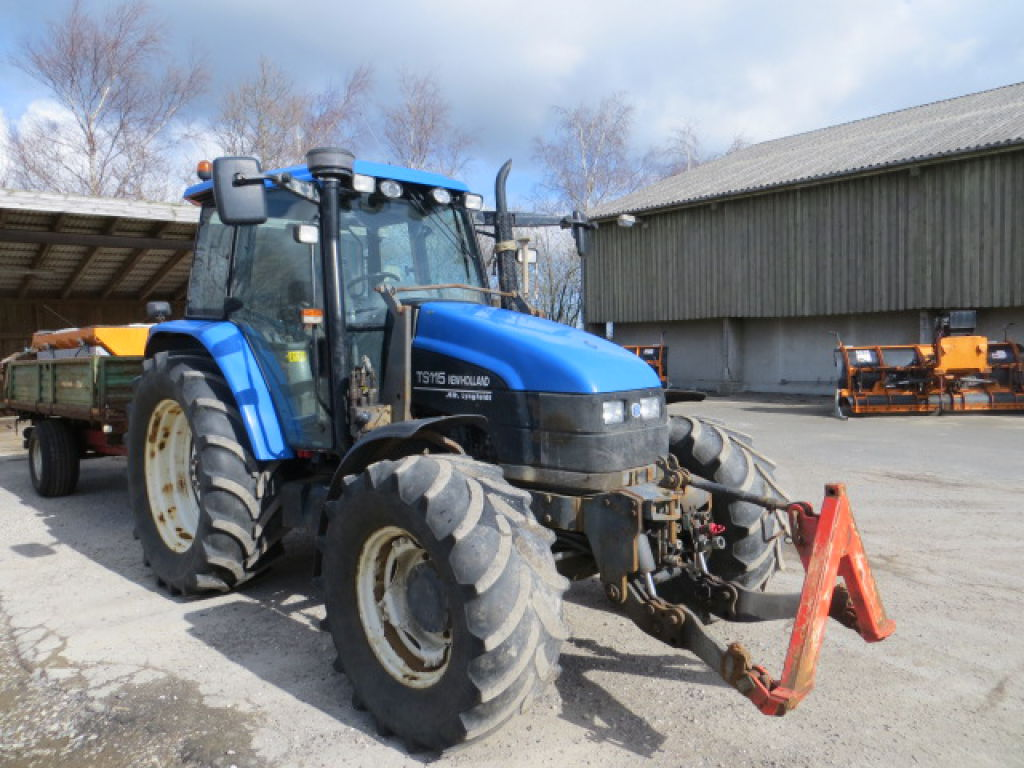new holland traktor ts 115 for sale retrade offers used. Black Bedroom Furniture Sets. Home Design Ideas