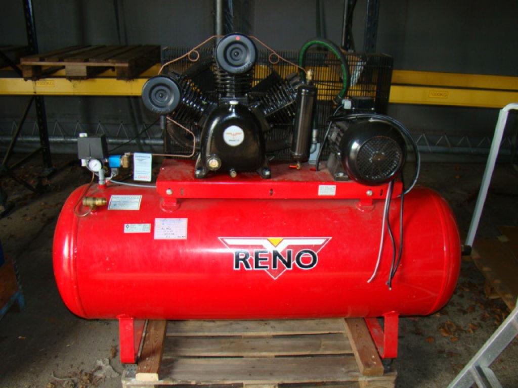 reno kompressor med 500 liter tank reno compressor with. Black Bedroom Furniture Sets. Home Design Ideas