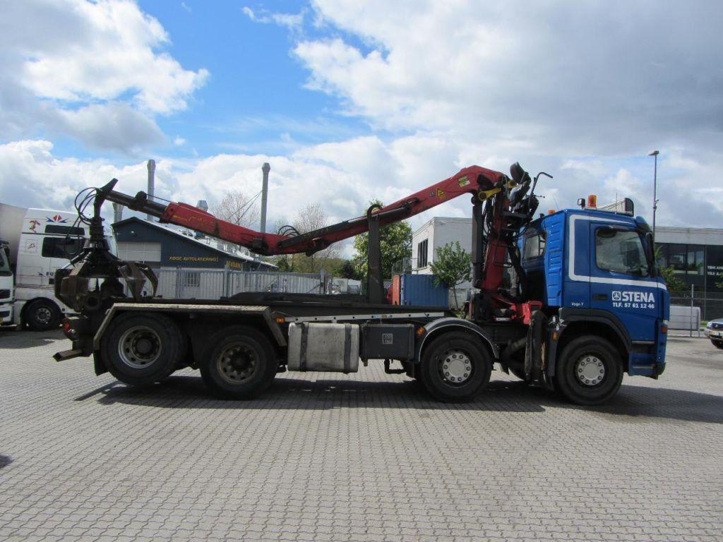 Volvo FM12 lastbil med kran / Volvo FM 12 truck with crane for sale. Retrade offers used ...