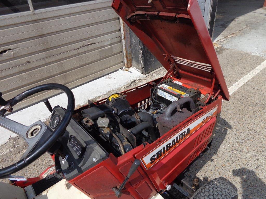 Shibaura GT 14  3 cyl diesel mini traktor  for sale  Retrade