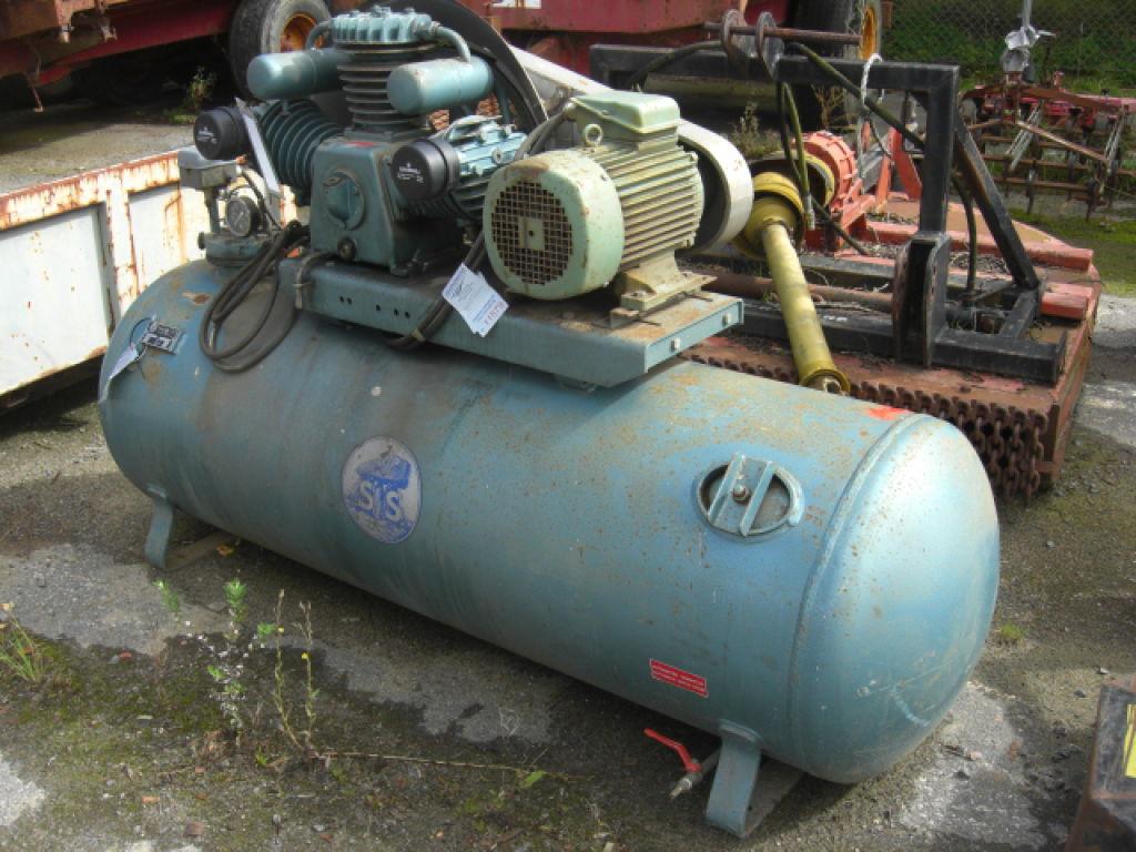 Nye Stenhøj kompressor 500 liter. for sale. Retrade offers used OJ-27