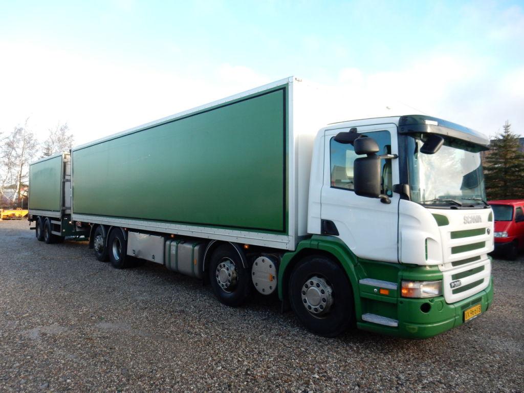 4 akslet lastbil til salg