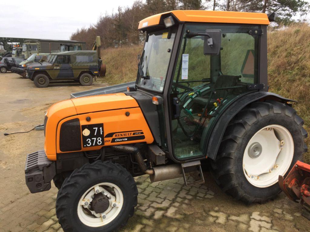 renault dionis 120 4 wd traktor til salg p retrade kan du k be brugt udstyr maskiner. Black Bedroom Furniture Sets. Home Design Ideas