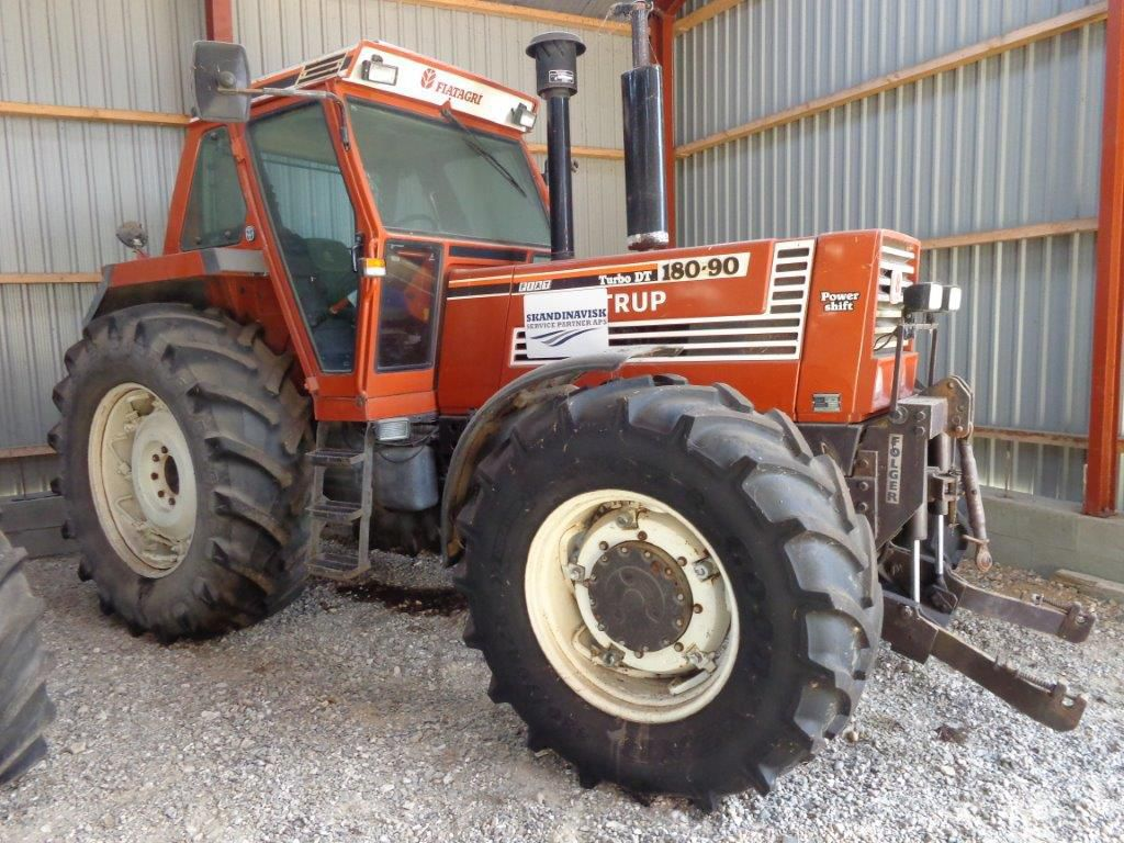 fiat 180 90 dt 4 wd traktor for sale retrade offers used machines vehicles equipment and. Black Bedroom Furniture Sets. Home Design Ideas