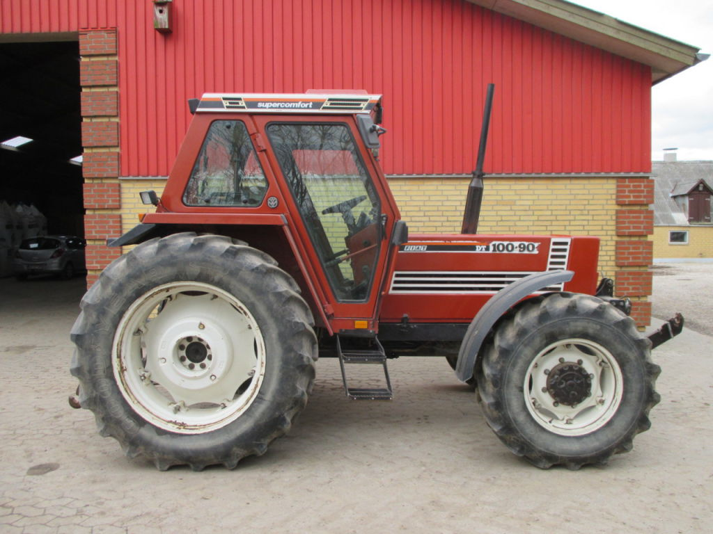 Fiat 100 90 Tractor : Fiat wd traktor tractor for sale