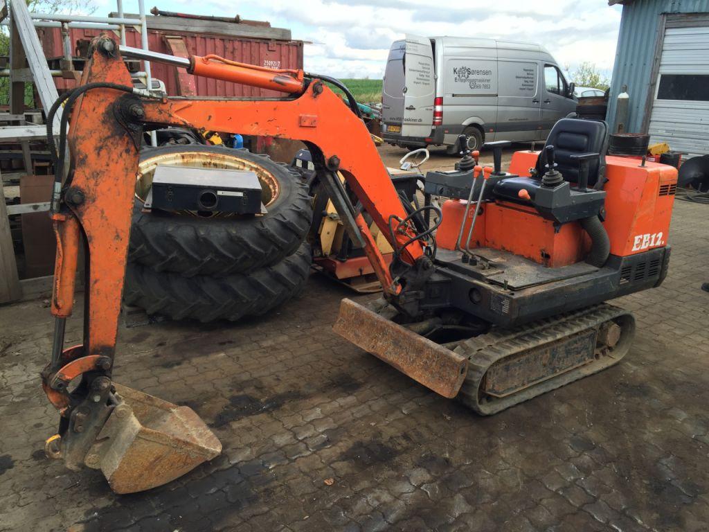 Pel Job Eb 12 4 Minigraver Pel Job Eb12 4 Mini Excavator