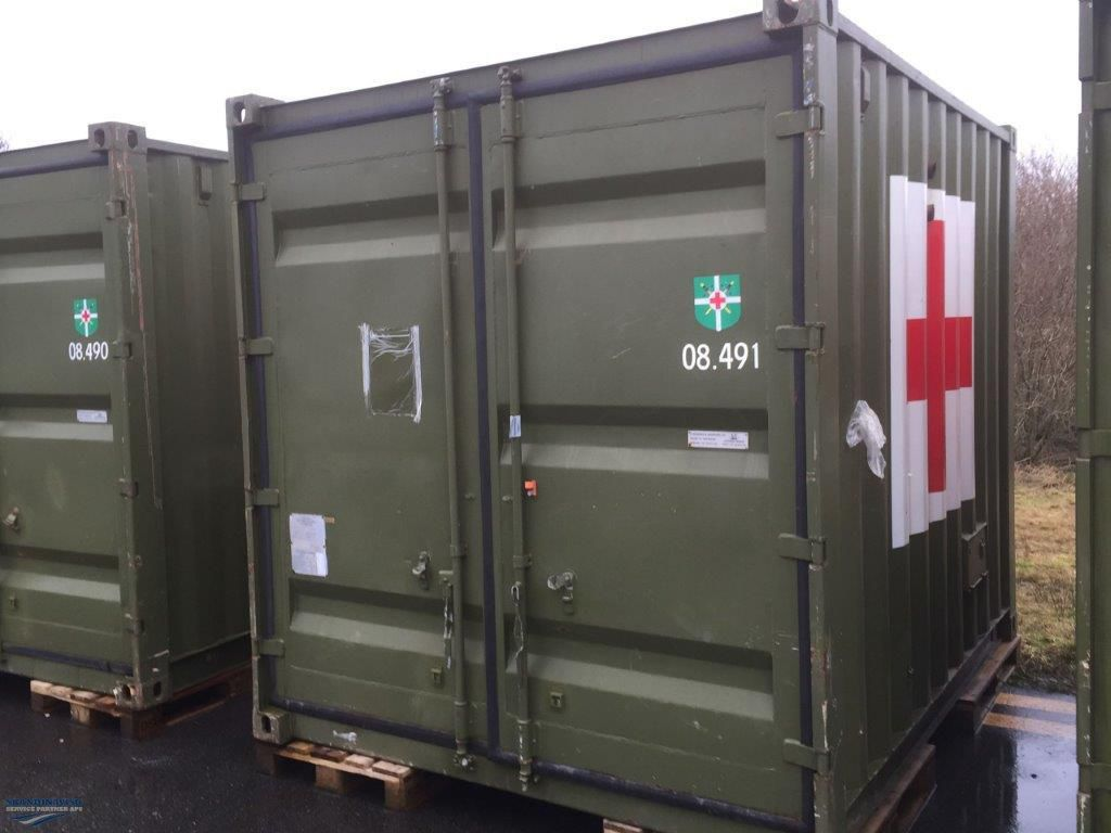 10 fod container, skyllerum for sale. Retrade offers used machines, vehicles, equipment and ...