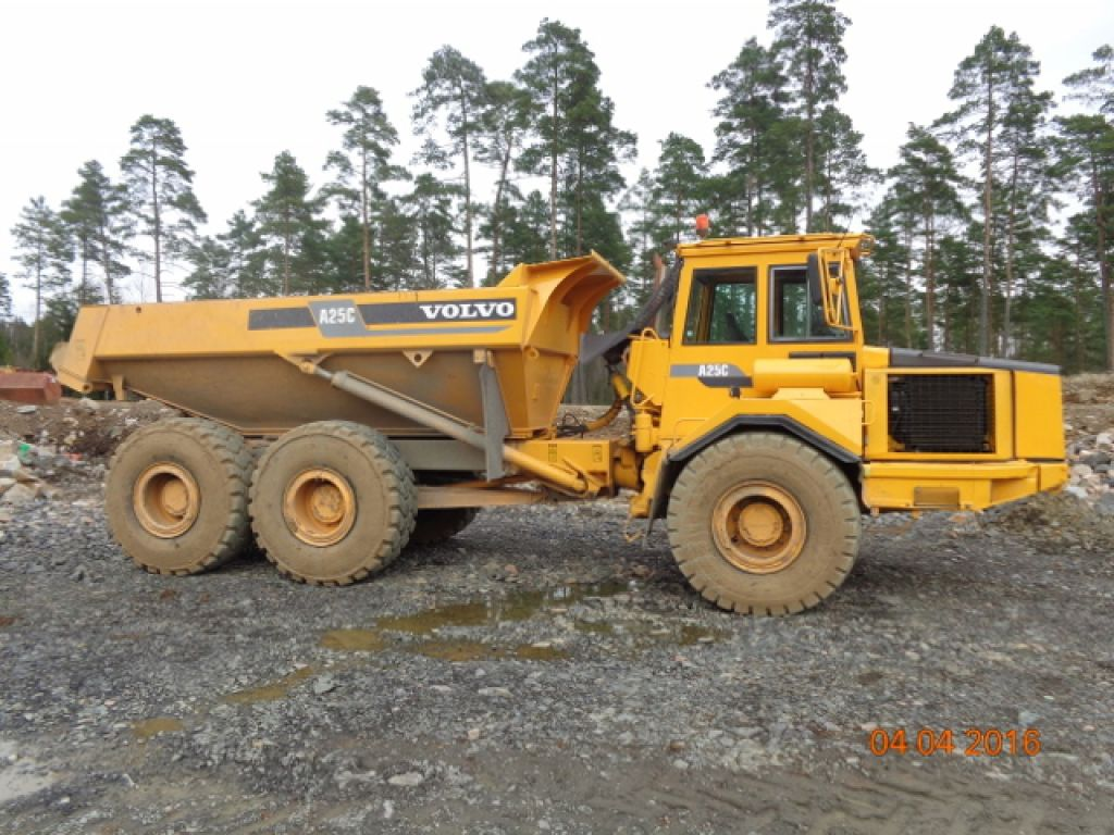 DUMPER VOLVO A25C for sale. Retrade offers used machines, vehicles