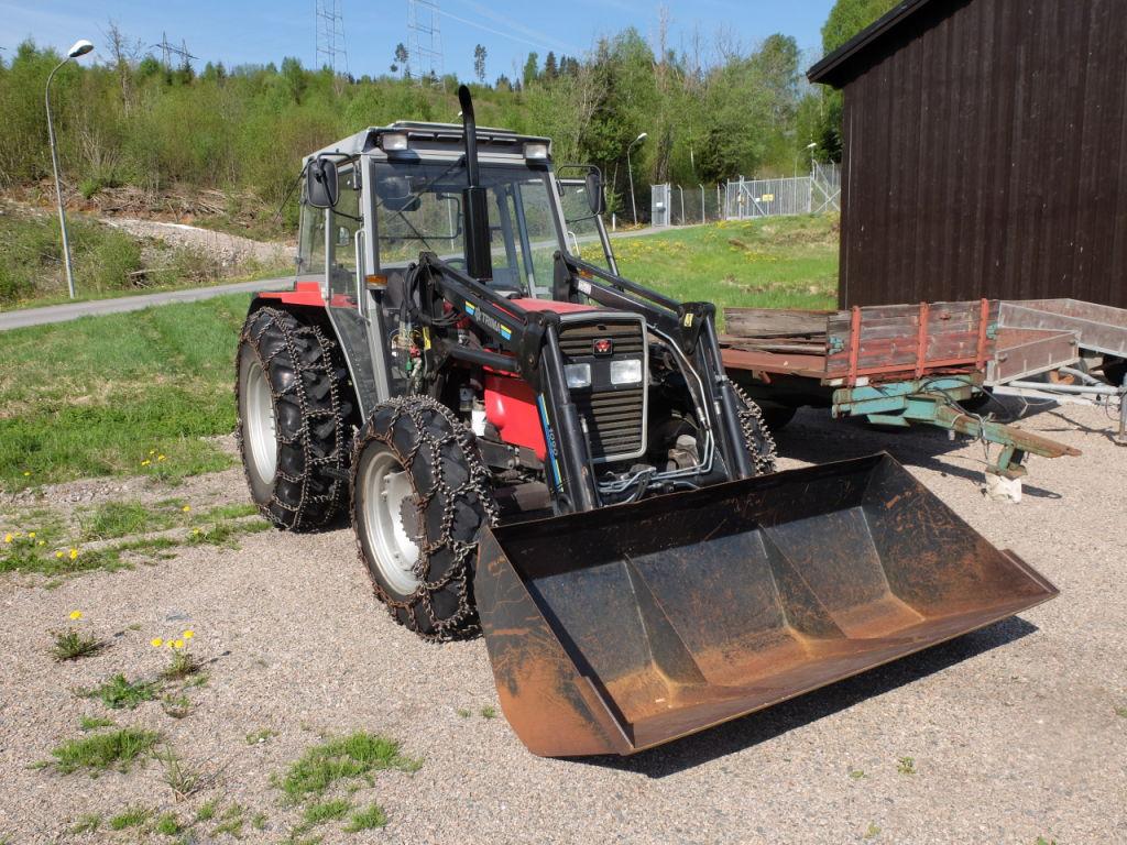 Traktor Massey Ferguson 372 1996 Modell For Sale