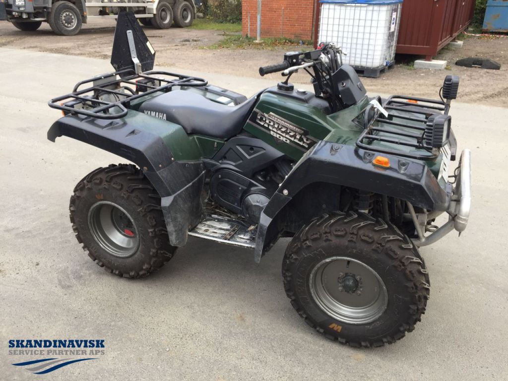 Yamaha grizzly 600 atv til salg p retrade kan du kbe for Yamaha grizzly 600