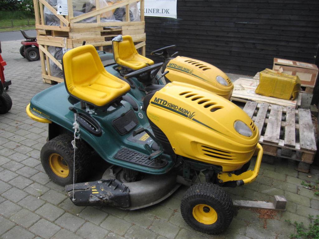 Mtd Yardman Tractors : Stk mtd yard man havetraktorer pcs