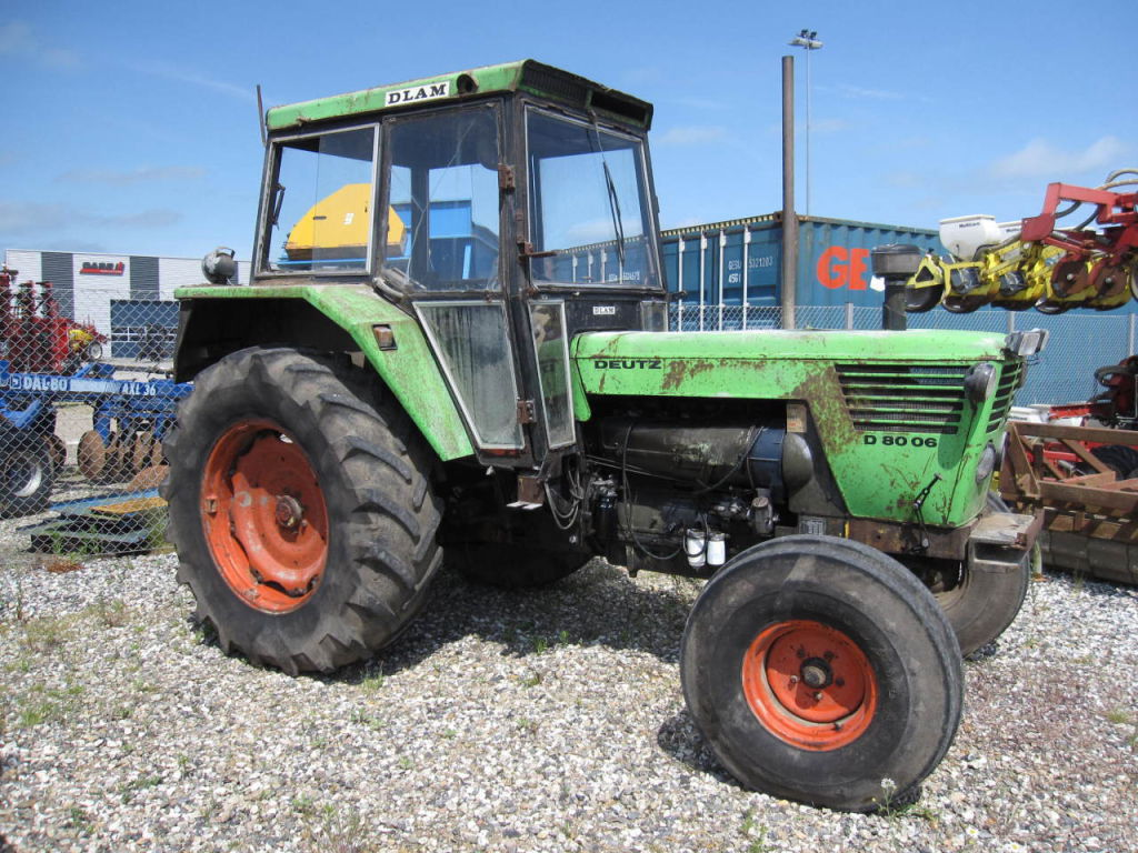 Deutz 8006 2WD for sale. Retrade offers used machines, vehicles, equipment and surplus material ...