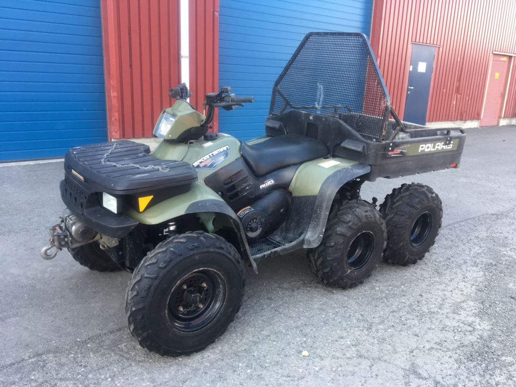 polaris sportsman 500 6x6 2006 modell atv for sale retrade offers used machines vehicles. Black Bedroom Furniture Sets. Home Design Ideas