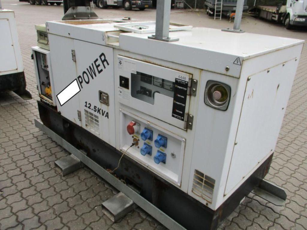 Generatoranlæg 12.5 KVA STAMFORDPERKINS Genset for sale