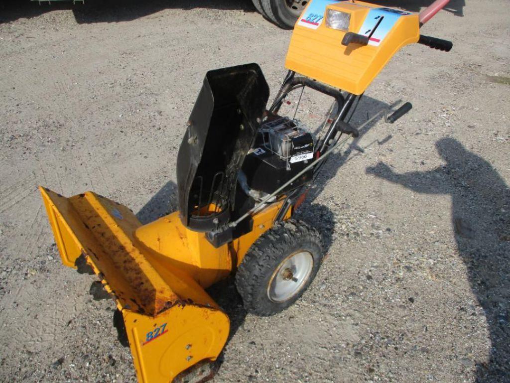 Sneslynge Stiga Model 827 / Snowblower til salg. På Retrade kan du købe brugt udstyr, maskiner ...