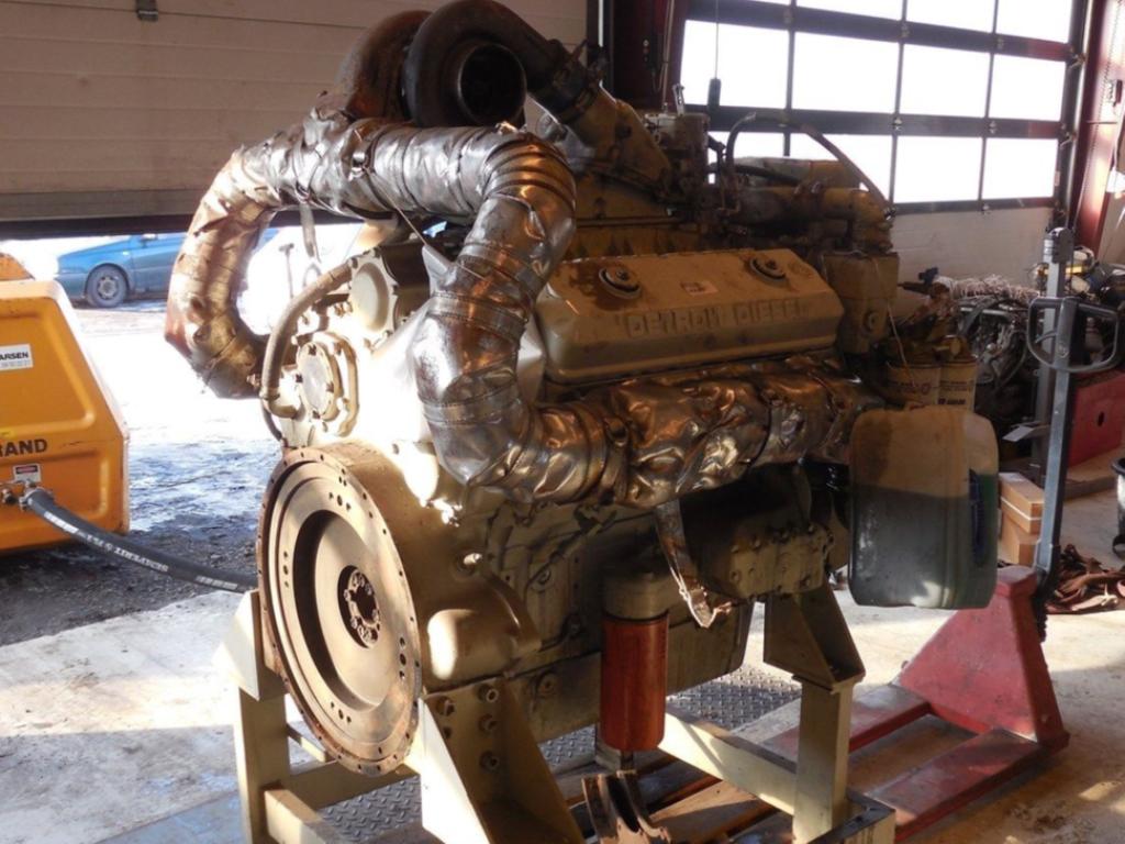 Detroit 71 V8 2 Takts Diesel motor / 2 stroke engine for sale