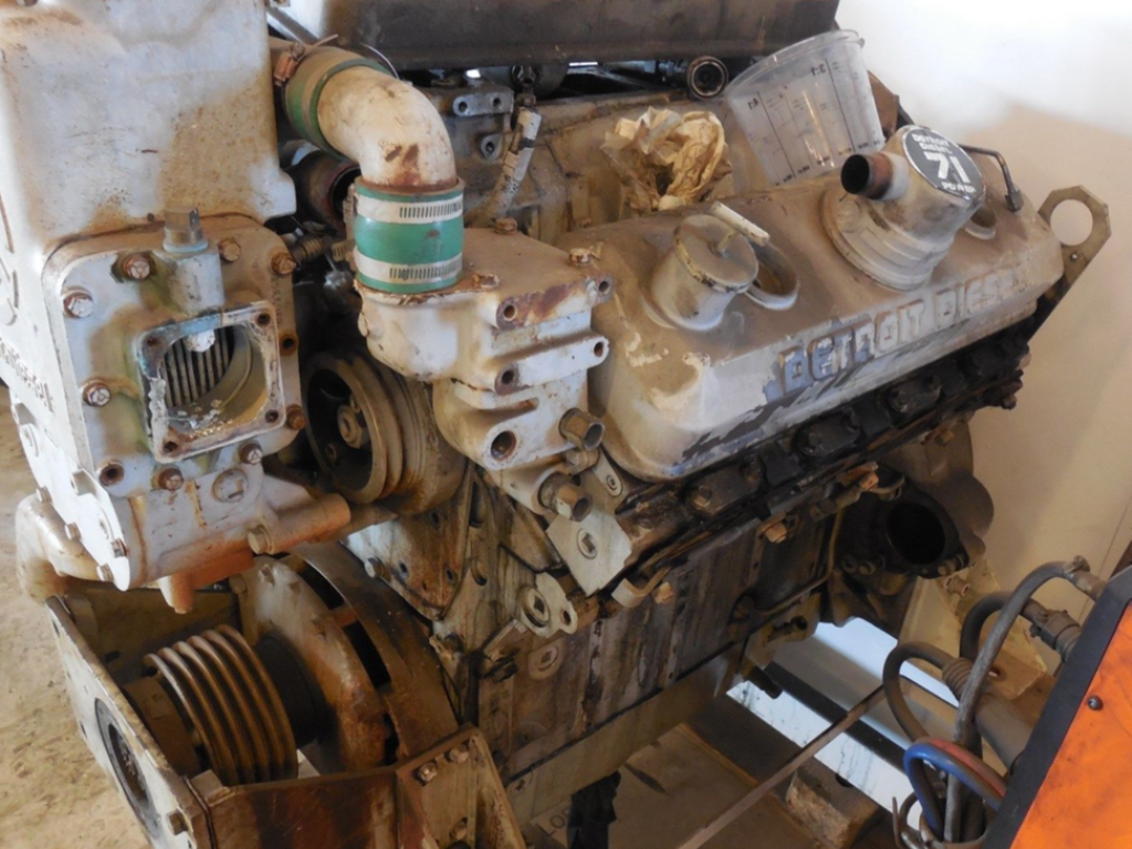 Detroit 71 V8 2 Takts Diesel motor / 2 stroke engine for sale