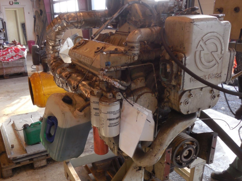 Detroit 71 V8 2 Takts Diesel motor / 2 stroke engine for