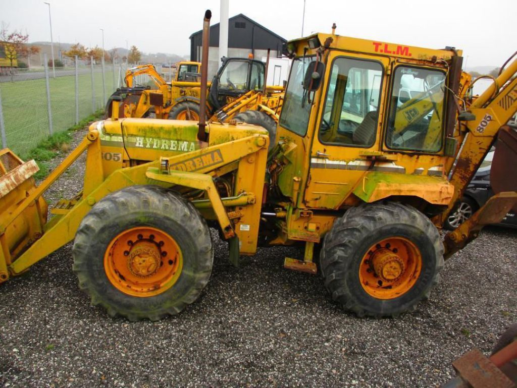 Hydrema 805 Rendegraver / Backhoe for sale. Retrade offers used machines, vehicles, equipment ...