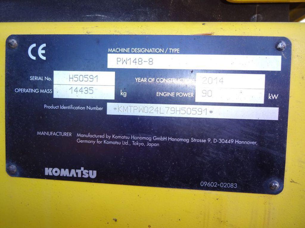 Komatsu PW148-8 for sale  Retrade offers used machines