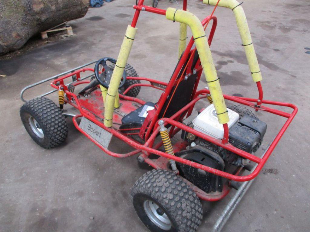 Bocart 4 hjulet crosser med Honda GX270 motor / Bocart 4