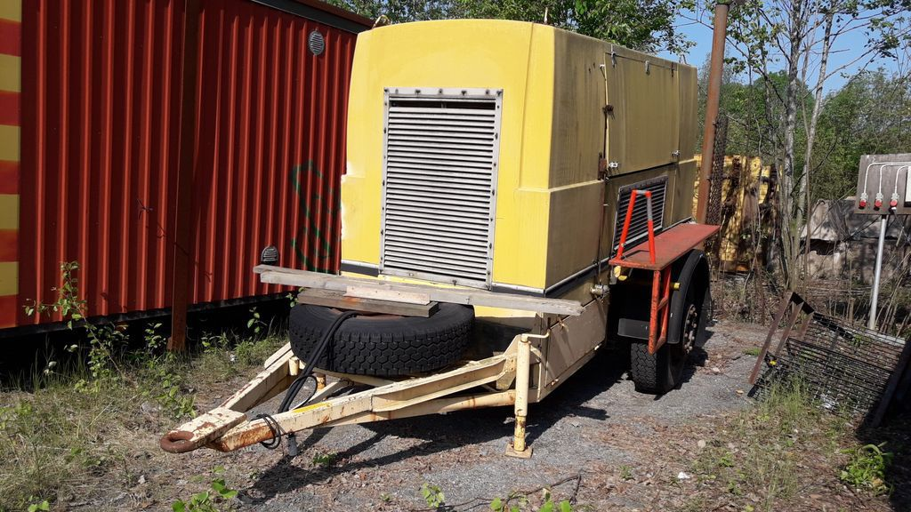 Towable electric generator for sale  Retrade offers used