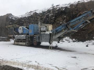 Sandvik CM1208 F Förkross/Mobile crusher