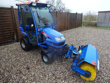 Iseki TXG23 med kost / with sweeper