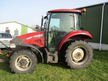 CASE IH C55 Traktor med Frontlift / tractor with frontlift