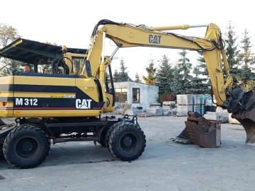 EXCAVATOR CATERPILLAR CAT 312M with TILT ROTATOR and 3 x buckets