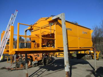 Asfaltcontainer Letto 10 Tons. til Wirehejs / Asphalt container