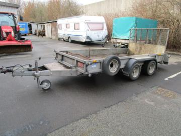 Ifor Williams maskintrailer