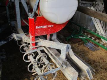 Harve med vand tank / Harrow with tank