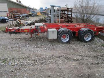 Kel-berg trailer med wire hejs / trailer with wire hoist