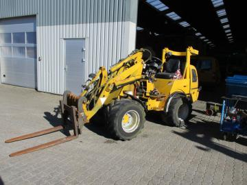 Job-Mann 200-35 Minilæsser / Wheel Loader