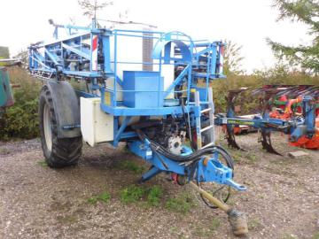 Lemken Albatros 40 trailersprøjte / Trailer sprayer
