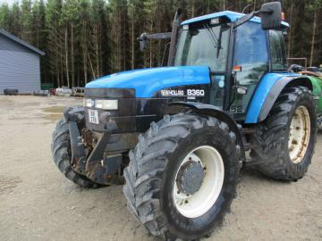 New Holland 8360-4WD traktor / Tractor