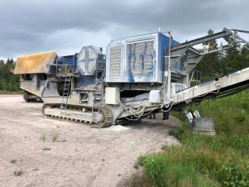 Kleemann MC120Z Stenkross/Stone crusher