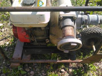 Industrial water pump Honda OHV